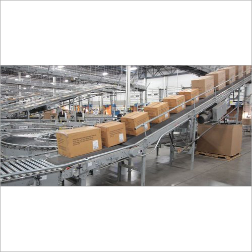 SS Pharma Packaging Conveyor