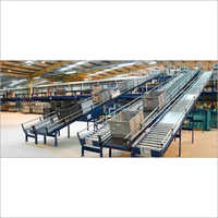 Customized Roller Food Conveyor System