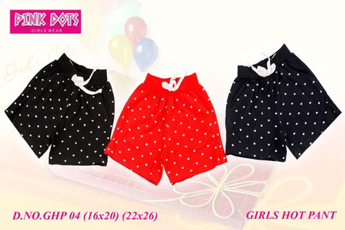 22 x 26 Girls Hot Pant