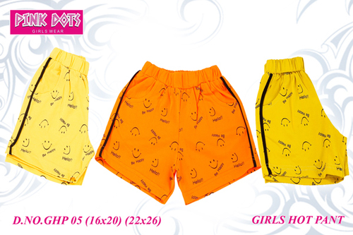 Shorts Stretchable Girls Hot Pant