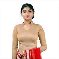 Cotton Lycra Blouse