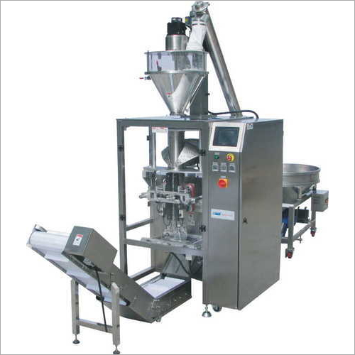 Liquid Form Fill Scroll Machine