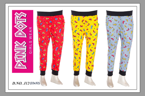 Cute And Comfortable Printed Joggers