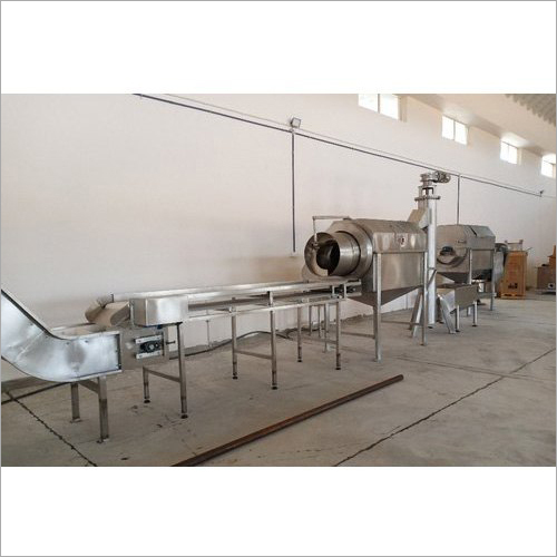 Industrial Stainless Steel Ginger Paste Line