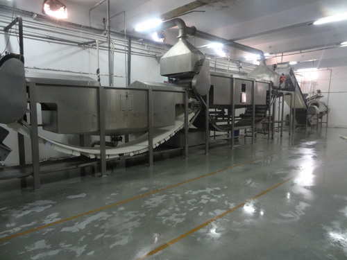 Stainless Steel Vegetable Processing Line