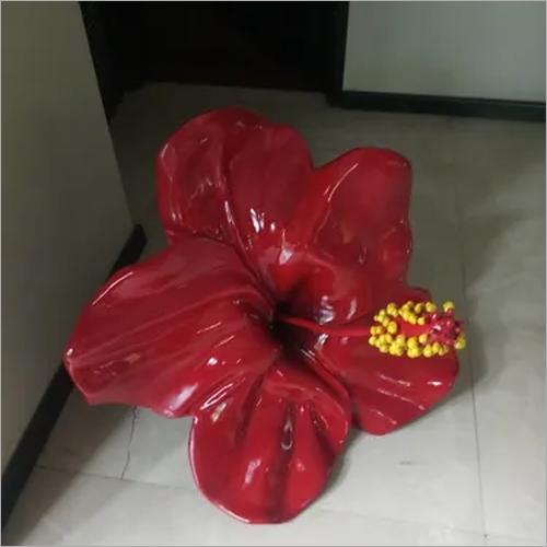 RED DECORETIVE FRP  FLOWER