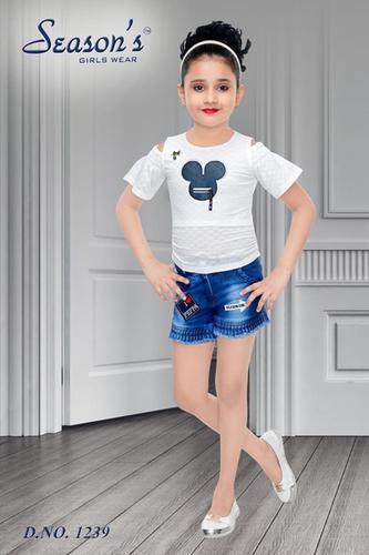 Girls Seasons Hotpants Set