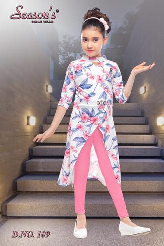 Girls Pink Leggings Set