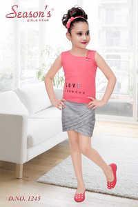 Peach Girls Skirt