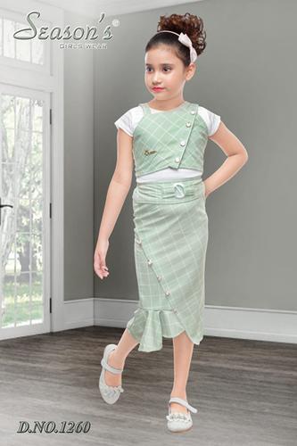 Green Girls Skirt