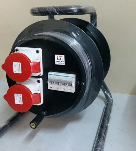 Cable Reel 32amp Socket With Mcb