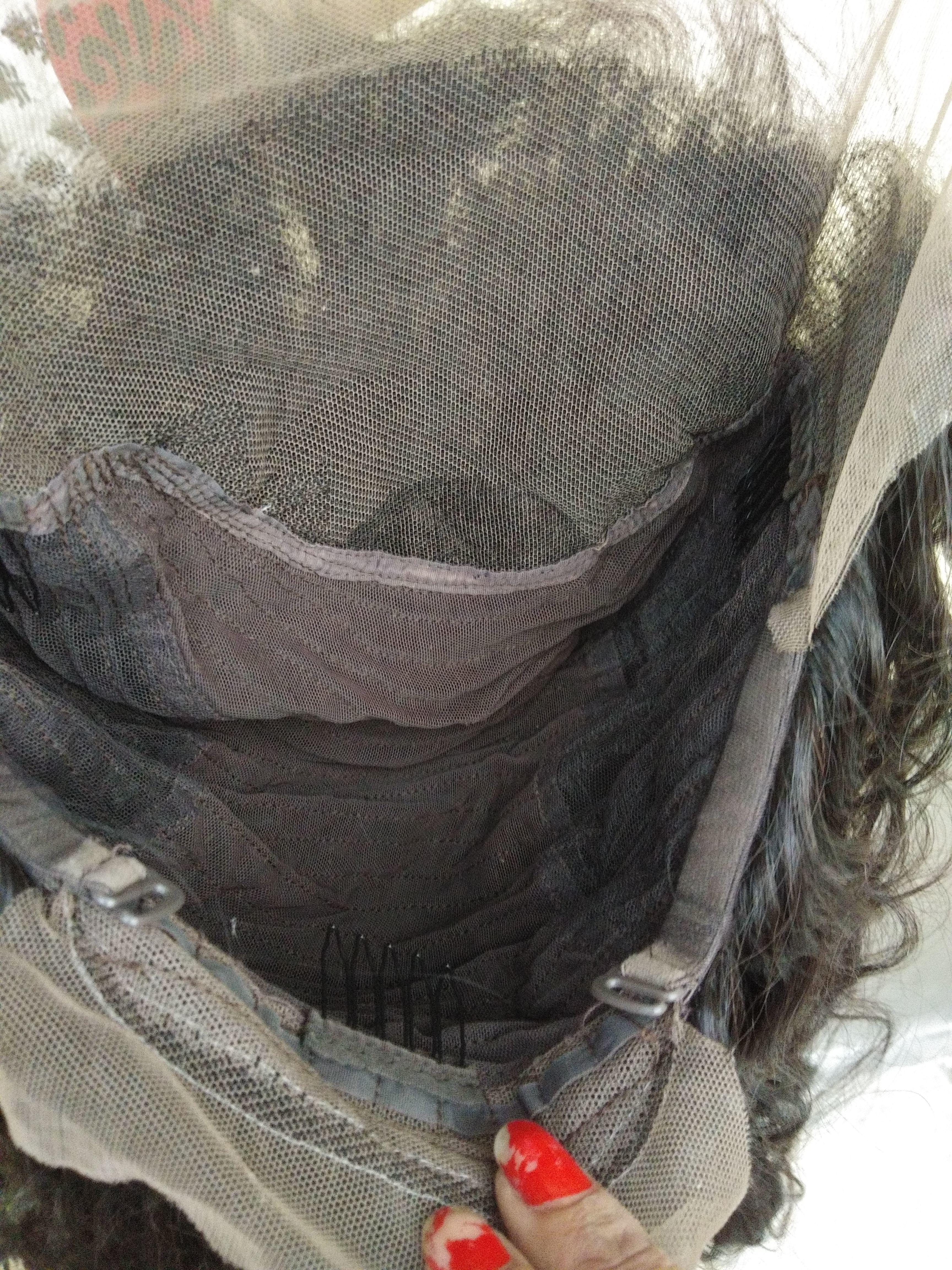 Natural raw front lace wig,100% virgin human hair HD lace wig