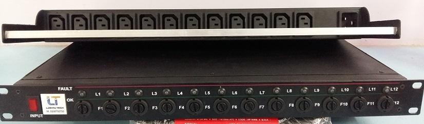 Main Distribution Unit with 12 Ways IEC C13 Socket