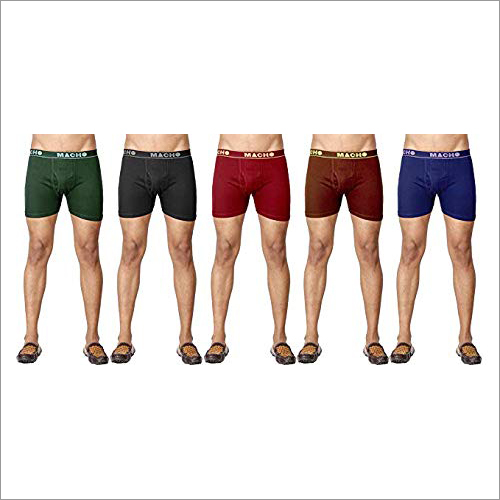 Mens Plain Trunk Underwear