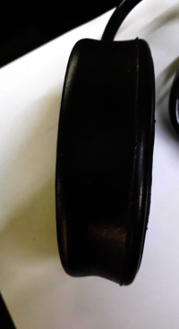 Single Paddle Rubber Foot Switch
