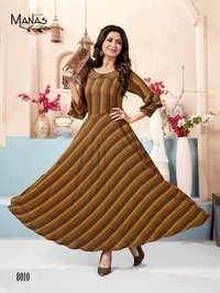 Classic Vol-2 Manas Embroidered Rayon Kurti