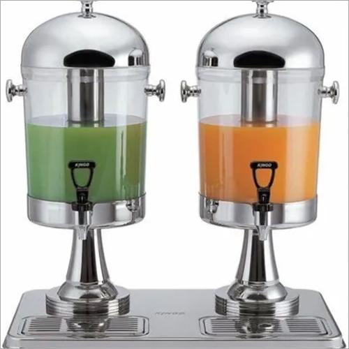 Juice Dispenser Double 8 Ltr x 2, 53 x 34 x 56 cm, SS Tap
