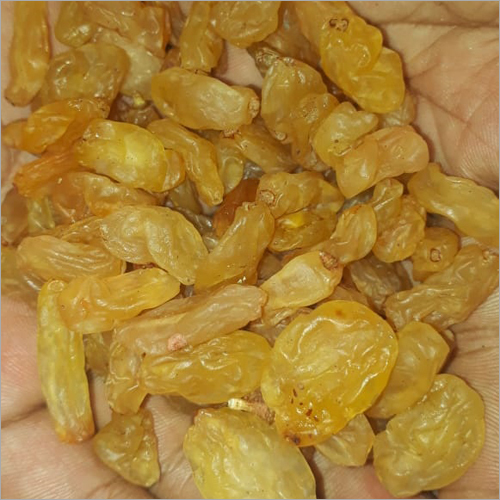 Yellow Colour Sulfur Raisins