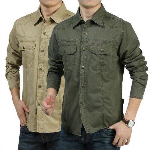 Mens Cargo Shirts