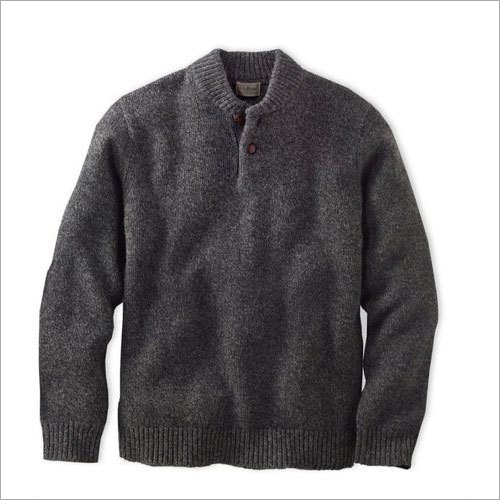 Mens Grey Woolen Sweaters