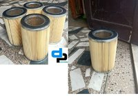 Round Air Filter For  DC Motor