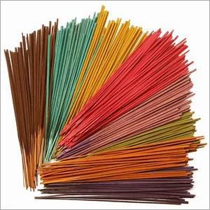 Multicolor Raw Incense Stick