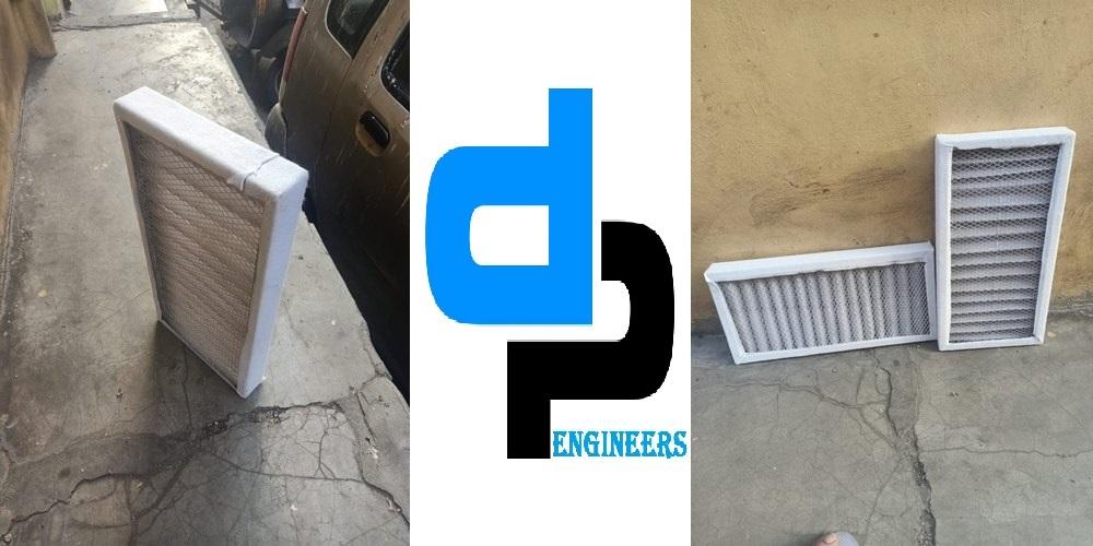 Air Filter For Dc Motor And Panel