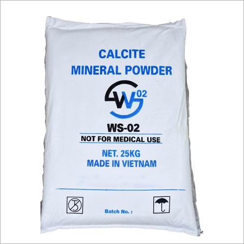 White Calcite Mineral Powder
