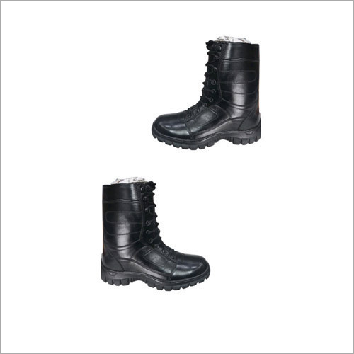Black DMS Army Shoes