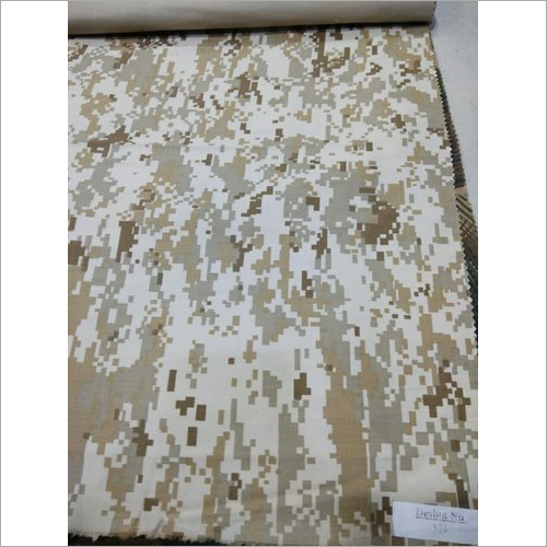 Army Print Uniform Fabric
