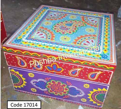 Printed Wooden Box