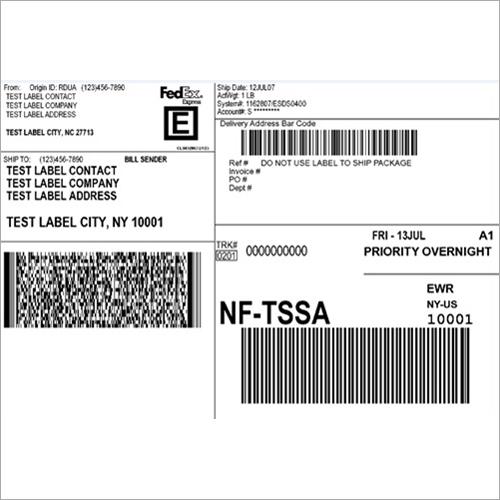 Fedex Shipping Labels