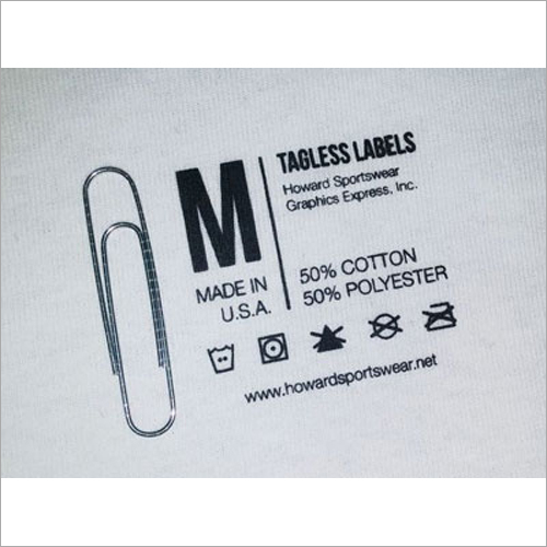 Clothes Tag Labels