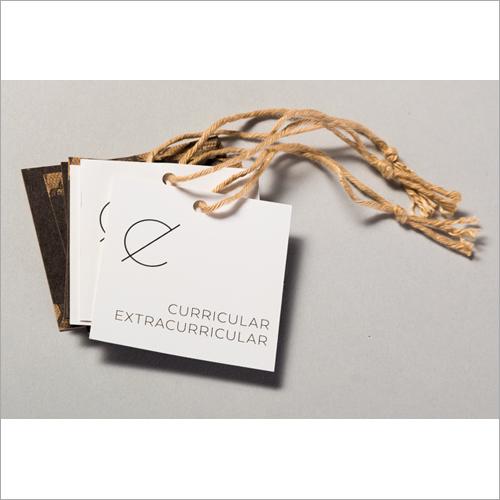 Printed Paper Garment Tag