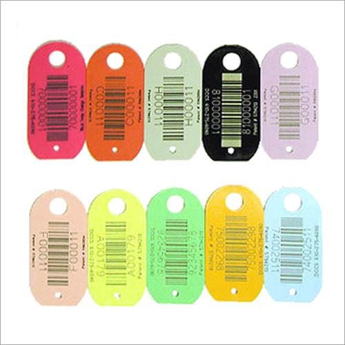 Barcode Printed Cloth Tag