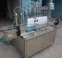Automatic Sanitizer Liquid Filling Machine