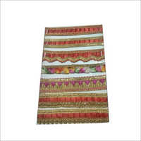 Designer Satin Saree Lace