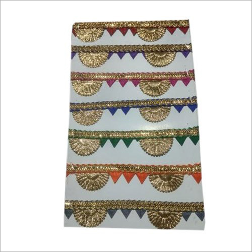 Multicolor Designer Saree Lace