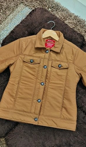 Girls button jacket