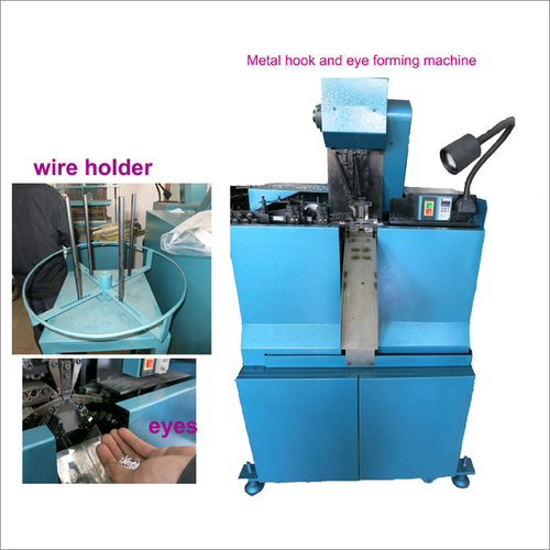 Hook And Eye Forming Machine