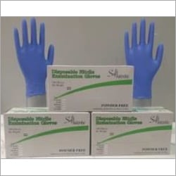 Hand Gloves (Nitrile gloves)