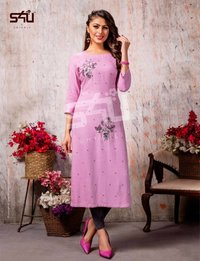 Cotton Candy Vol-4 Wholesale Kurti