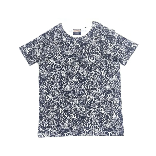Mens Printed Cotton Jersey T-Shirt