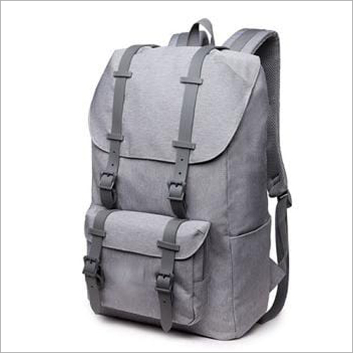 College Leather Backpack