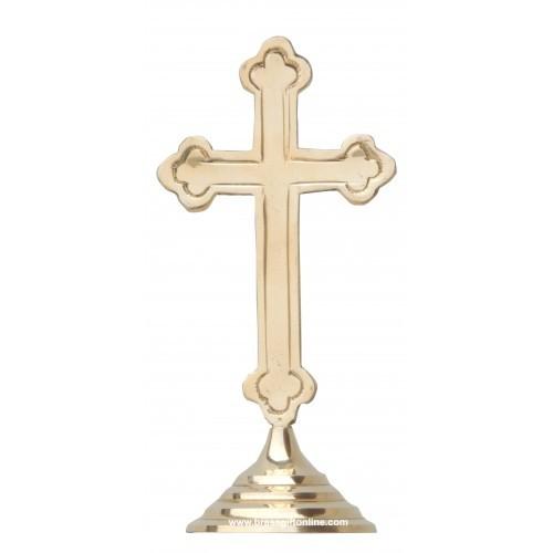 Brass Cross Jeasus
