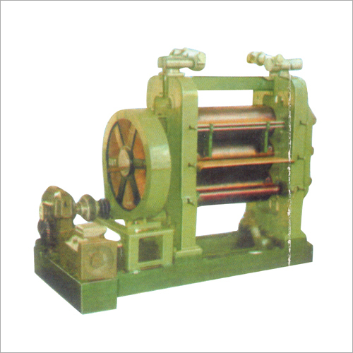 Three Roll Calendar Machine
