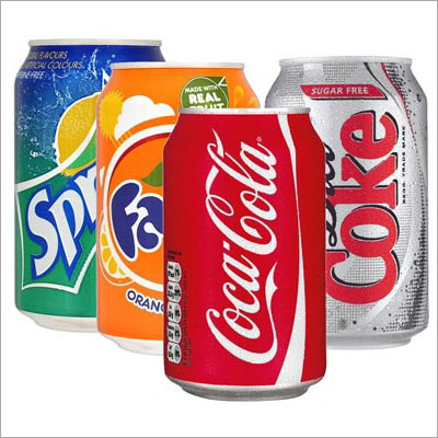 Soft Cold Drink Cans