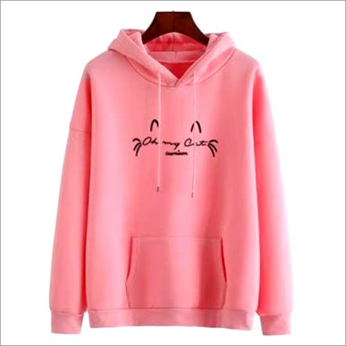 Ladies Pink Hood