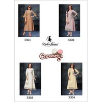 Creamery Ladies Flavour Cotton Kurti Manufacturer