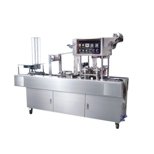 Automatic curd  Filling and Sealing Machine
